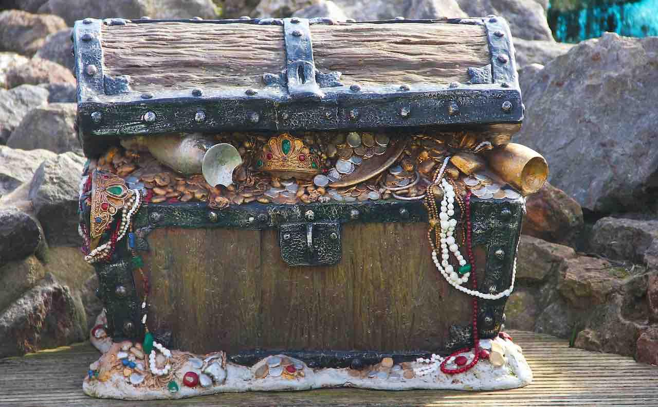 海辺の宝箱